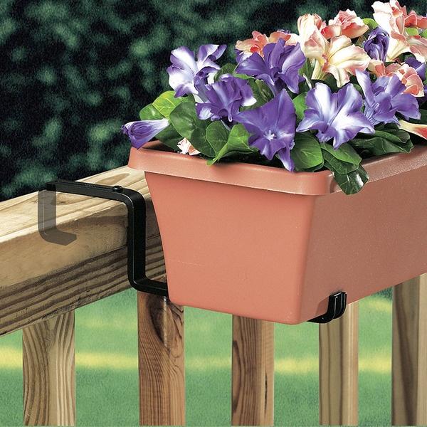 Suporte para Jardineiras Varandas e Sacadas - Braço Ajustável
