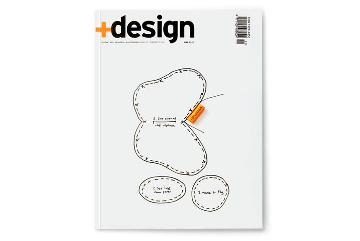 design magazine issue cover - mousegraphics.gr