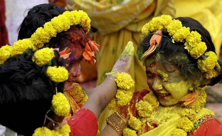 Holi celebrations in India! <3