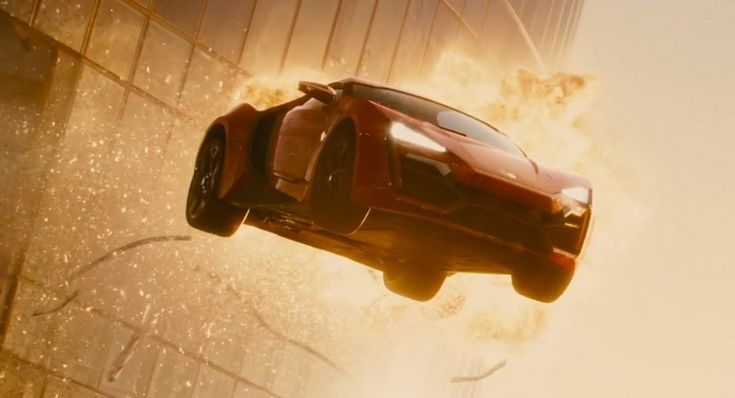 Physicist Says Lykan Hypersport Furious 7 Tower Jump is Plausible