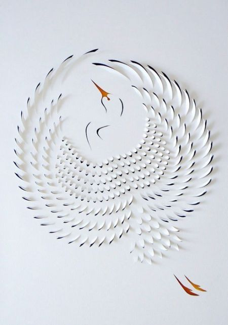 Paper Cutting Craft. This could be done with the Silhouette.