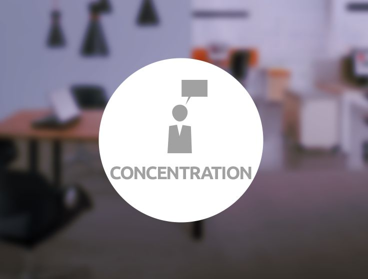 Concentration Zone by #MikomaxSmartOffice