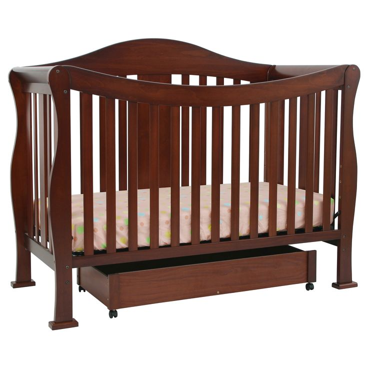 Save space in your child's bedroom with this combination toddler bed rails.  The versatile crib converts to beds of varying sizes. For convenient storage of toys and books, this four-in-one crib is constructed with an underside drawer.