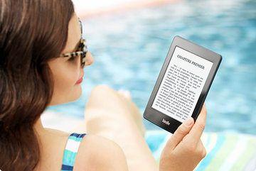Kindle Paperwhite : la liseuse by Amazon. Le confort de lecture est excellent, l'écran n'a pas de reflet même à la plage ! @IndependenceGeek