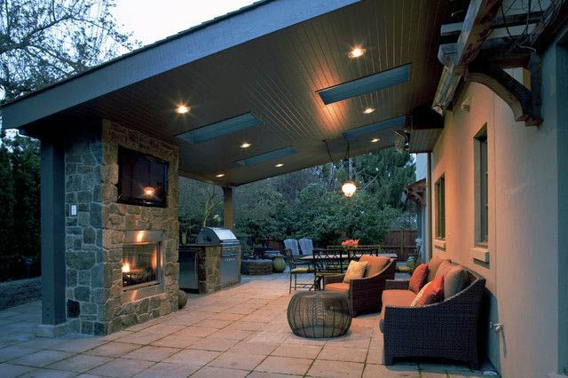 Modish Backyard Extended Patio Ideas That Will Blow Your Mind Covered Patio Design Patio Backyard Patio