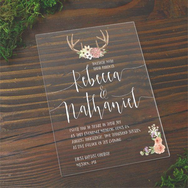 Acrylic Wedding Invitations Wholesale Wedding Invitations Wedding Invitation Cards Wedding Invitation Card Design