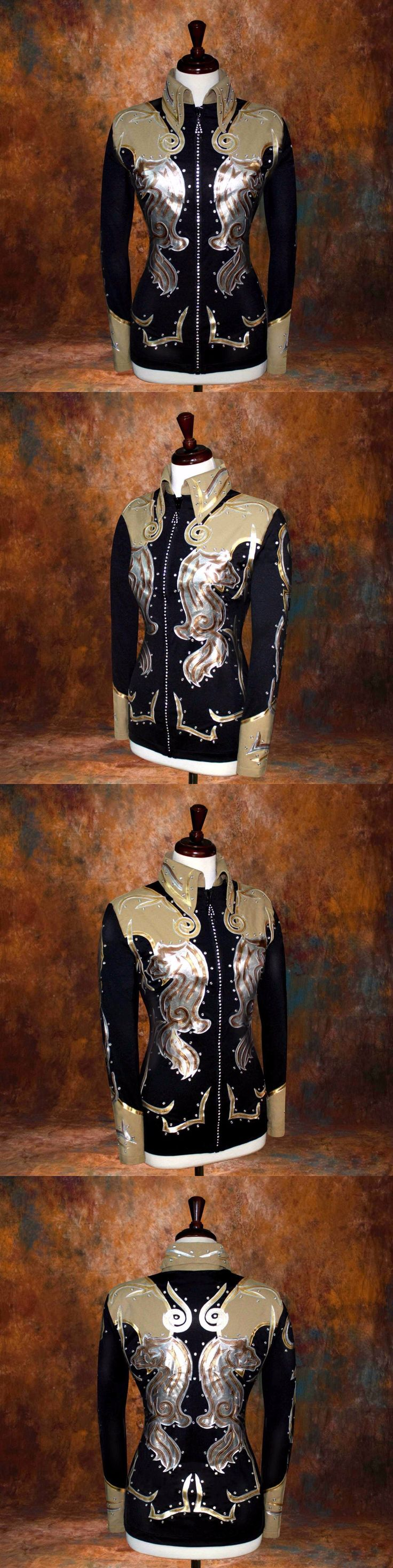 Other Rider Clothing 3167: Medium Showmanship Pleasure Horsemanship Show Jacket Shirt Rodeo Queen Rail -> BUY IT NOW ONLY: $249.98 on eBay!