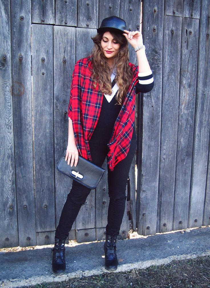 Plaid Madness | Nebunia carourilor | Color Me RED by Roxana Ifrim | Fashion and Style blog