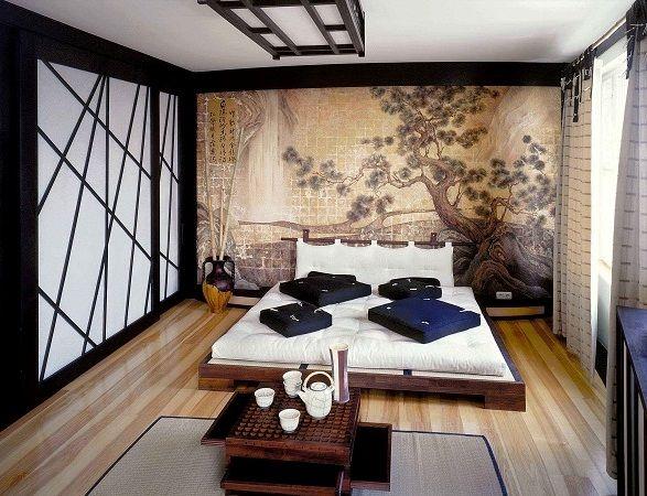 Интерьер квартиры в японском стиле.   Stroi-planet.ru