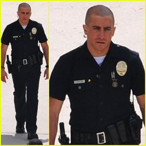 I love bald men. I love Jake Gyllenhaal. I love a man in uniform. Throw all that together and look what you get!