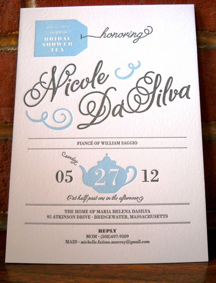 recipe themed bridal shower invitation wording%0A bridal shower tea invitation