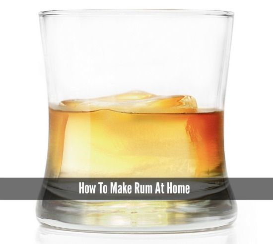 How To Make Rum At Home | You only need four base ingredients to make rum at home.