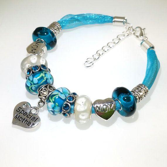 Beaded Bracelet Gift for Her Mothers Day Gift by BekisBeads