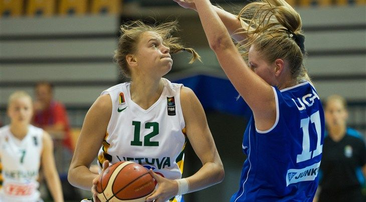 Great Britain were locked down 61-42 by tournament frontrunners Lithuania on day one of the FIBA U20 Women's European Championship 2016 in Podgorica.  Despite taking good care of the ball and benefitting from 24 points by Kennedy Leonard on her major tournament debut with the team, GB were unab