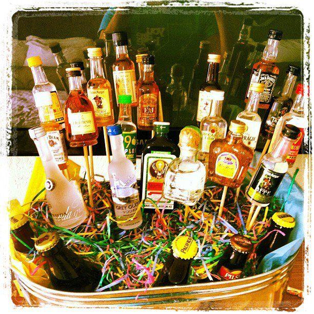 Creative Gift Basket For Someone Turning 21
