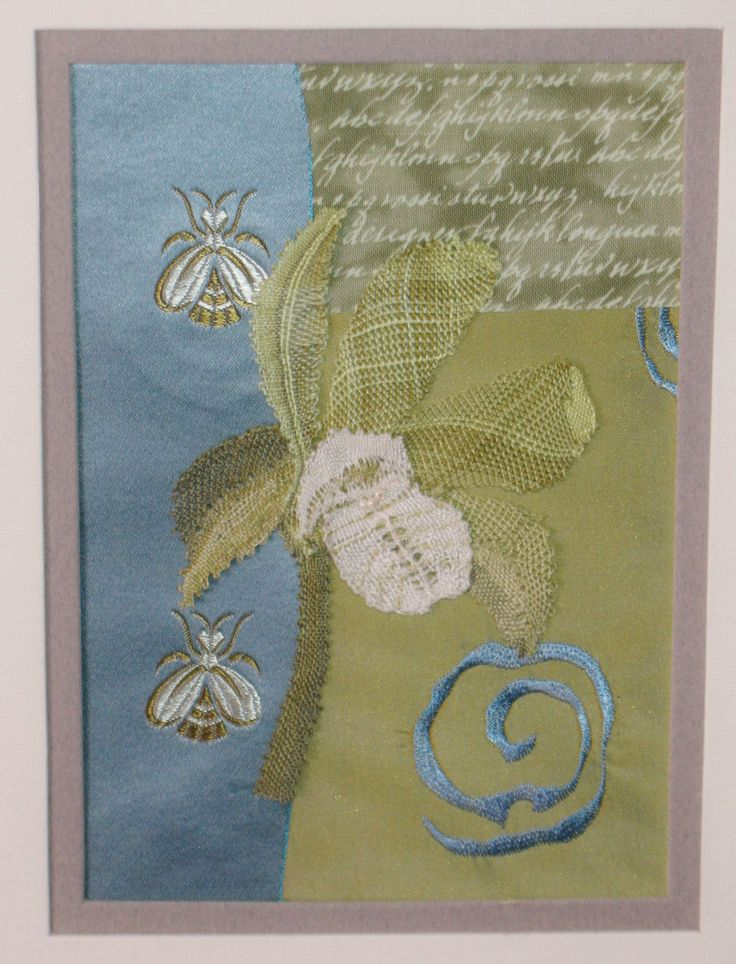 Bobbin Lace Orchid - mixed media by Cheryl Ford