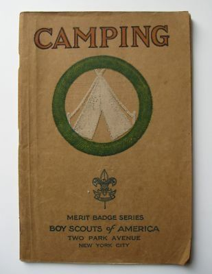 Boy Scout Camping Book.  I love old BSA  books.  My daughter is a Venturing Scout.  I was a Girl Scout.