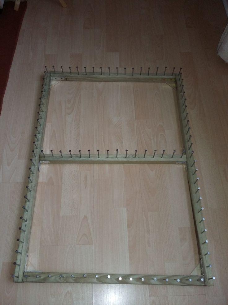 POM POM BLANKET LOOM- PART 3  make an adjustment bar for your loom