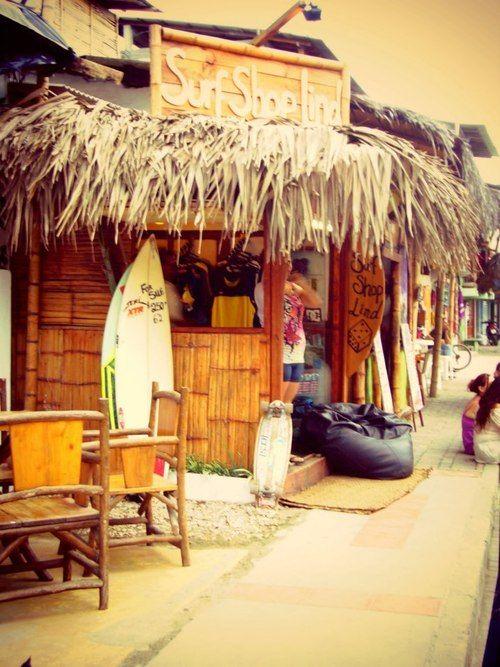 reminds me of my vivid dream! surf shop