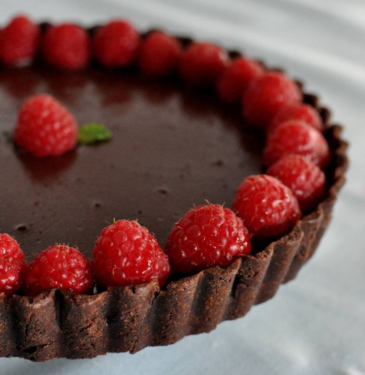 42 best DESSERT - TARTE CHOCOLAT images on Pinterest ...