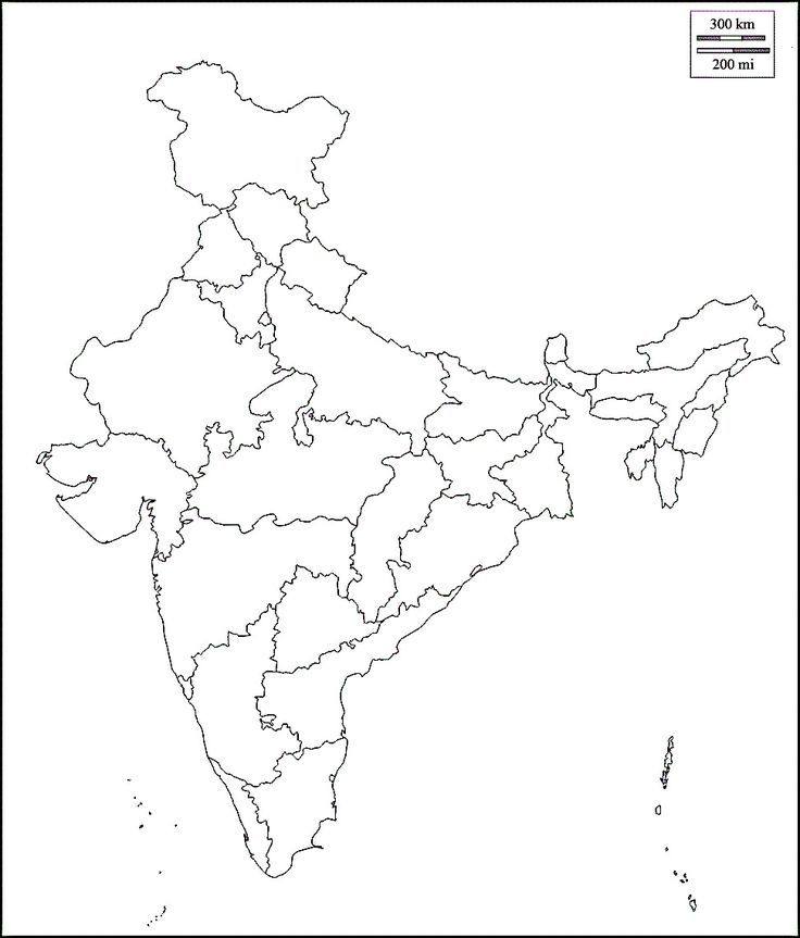blank india political map with states Image Result For India Political Map Blank India Map Map blank india political map with states