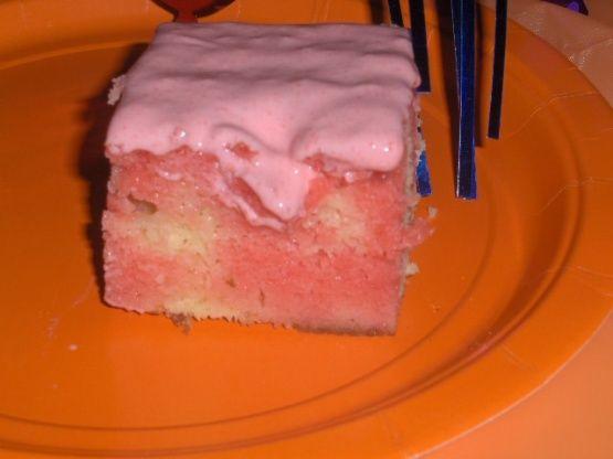 Strawberry Jello Cake Recipe From Scratch: Creamsicle Cake - Jello Cake