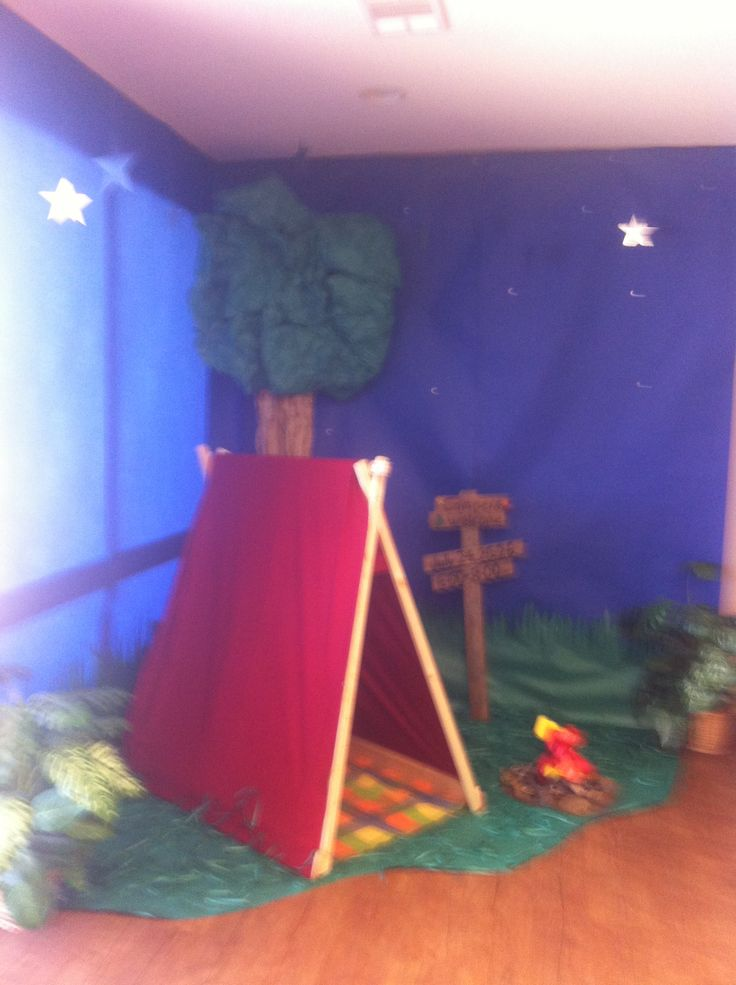 Vbs camping theme decorations