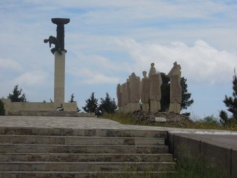 Second World War memorial in Crete