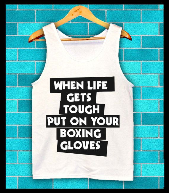 Boxing Motivation Slogan Fighter Liston Mike Tyson fashion festival singlet t shirt gym bodybuilder weights muscles muay thai UFC on Etsy, $26.17 CAD
