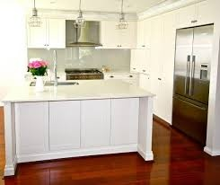 shaker kitchen glass splashback - Google Search