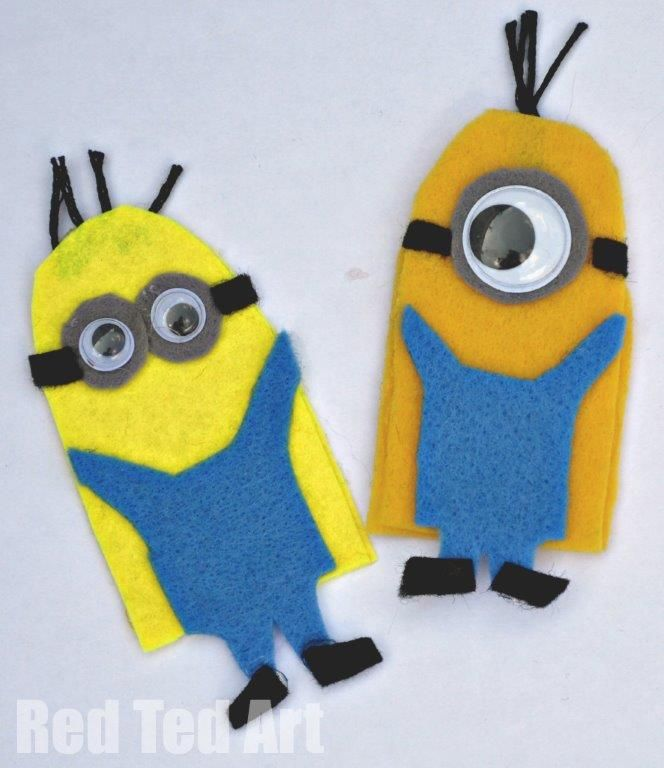 Minion Puppets: Minions Fingers Puppets, Minions Despicable Me, Minions Crafts, Despicable Me Funny, Gloves Puppets Ideas, Minions Puppets Jpg 664 768, Puppets Videos, Puppets Crafts, Finger Puppets