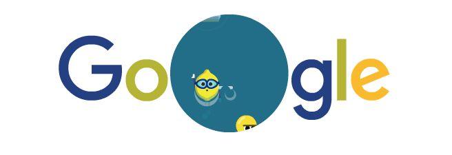 FructiJuegos de Google Día 4 Natación Juegos Olímpicos de Río de Janeiro 2016. Doodleando, Los Logos de Google