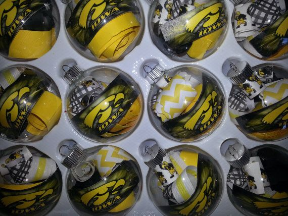 Iowa hawkeye ornament hawkeyes pinterest hawkeye for Iowa hawkeye decor