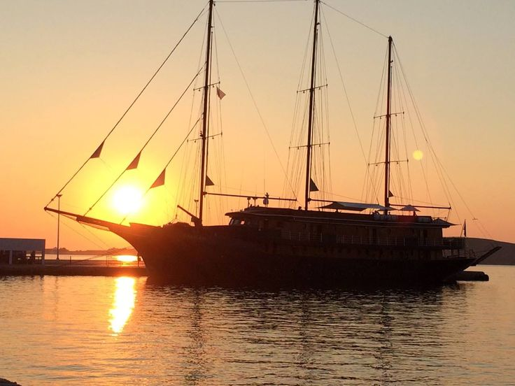 The 25-cabin M/S Galileo spotted at Paros island. Discover 9 Jewels of the Cyclades with #VarietyCruises