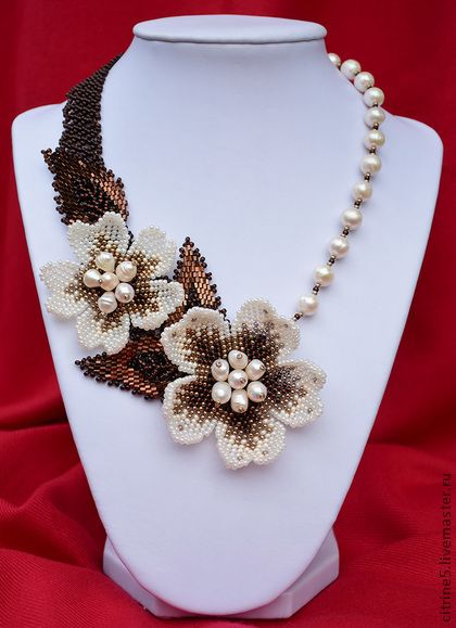 Jewelry Artwork by Daria Strel'chenk0 featured EyeCandy in Bead-Patterns.com Newsletter!