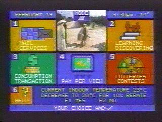 videoway menu