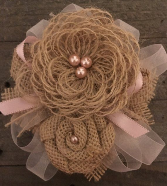 Country Wedding Garters: Rustic Country Wedding Corsage Garter Pin & Clip Loop