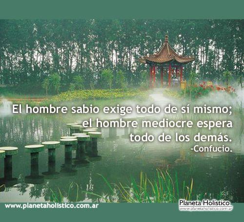Frases de Confucio. Pensamientos y Reflexiones.