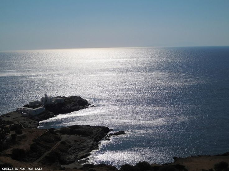 Sifnos, Chrissopigi, Cyclades, Greece.
