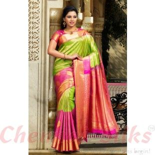 27 best silk saress images on Pinterest | Silk sarees, Saree ...