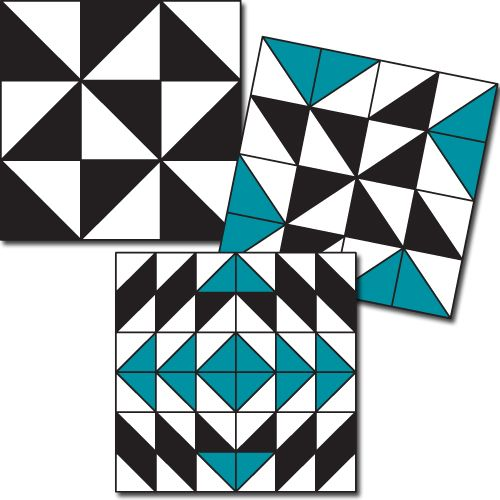 Quilt Blocks: Simple Math Part 1. See what you can learn from our quilt math blog posts on Quilty Pleasures!