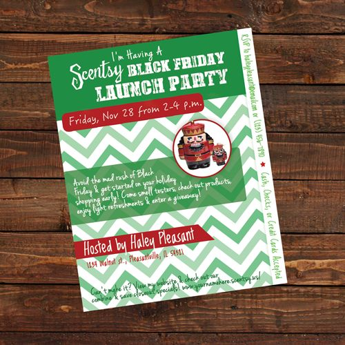 17 Best images about SCENTSY – Scentsy Party Invitation