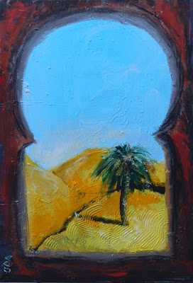 David Abse - Art: We're off on the road to Morocco
