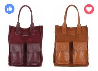 Univerzální kožená kabelka značky Vittoria Gotti je perfektní pro každý den. Kouzlo casual stylu je přidáváno dvěma koženými kapsami na přední straně. Je to model pro vás? 👍 ➡ http://bit.ly/2Aqdw6e ❤ ➡ http://bit.ly/2lUjTcU