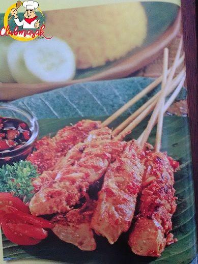 Resep Sajian Sate Ayam Bumbu Lengkuas, Bumbu Sate, Club Masak