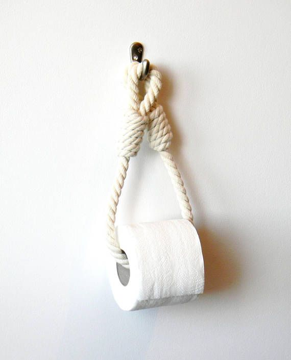 Paper Towel Holder Toilet Paper Roll Holder Nautical Bathroom Cotton Rope Toilet Paper Roll Holder Toilet Paper Paper Towel Holder
