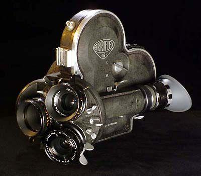 Arriflex S 16mm Film Camera: