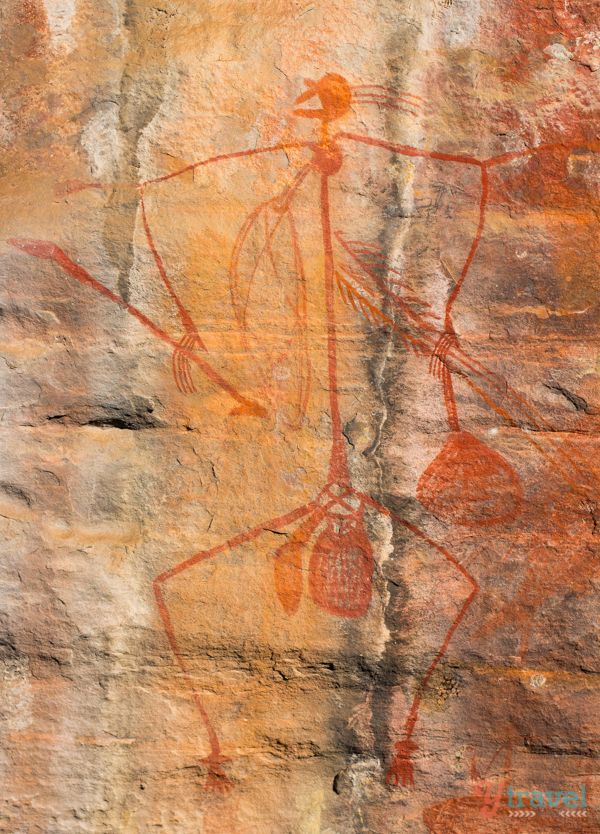 Aboriginal Rock Art - Kakadu National Park, Northern Territory, Australia