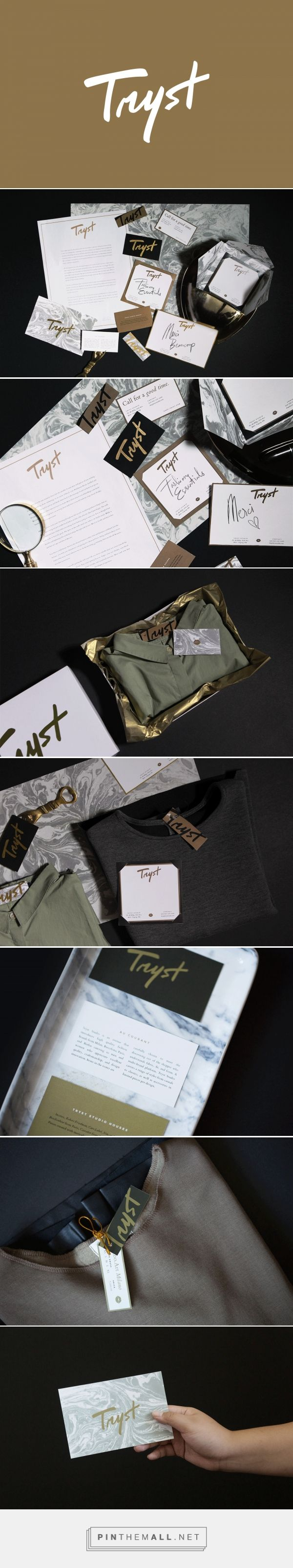 Tryst Fashion Boutique Curator Branding by Tintin Lontoc | Fivestar Branding Agency – Design and Branding Agency & Curated Inspiration Gallery