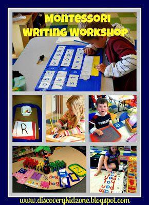 montessori creative writing activities
